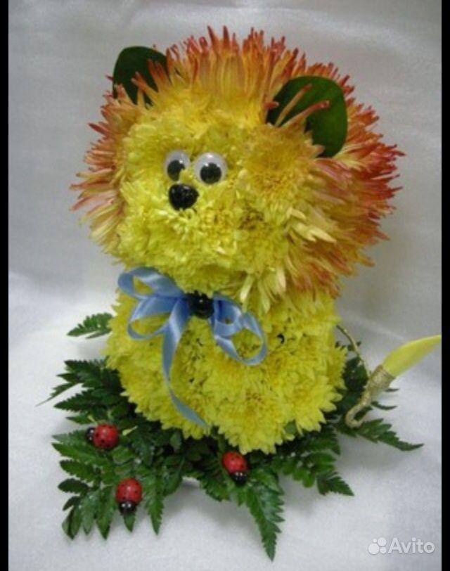 Поделка из цветов своими руками для детей 63