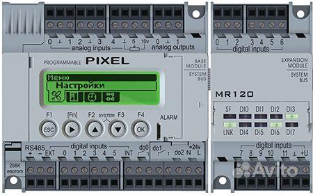 контроллер пиксель для вентиляции инструкция