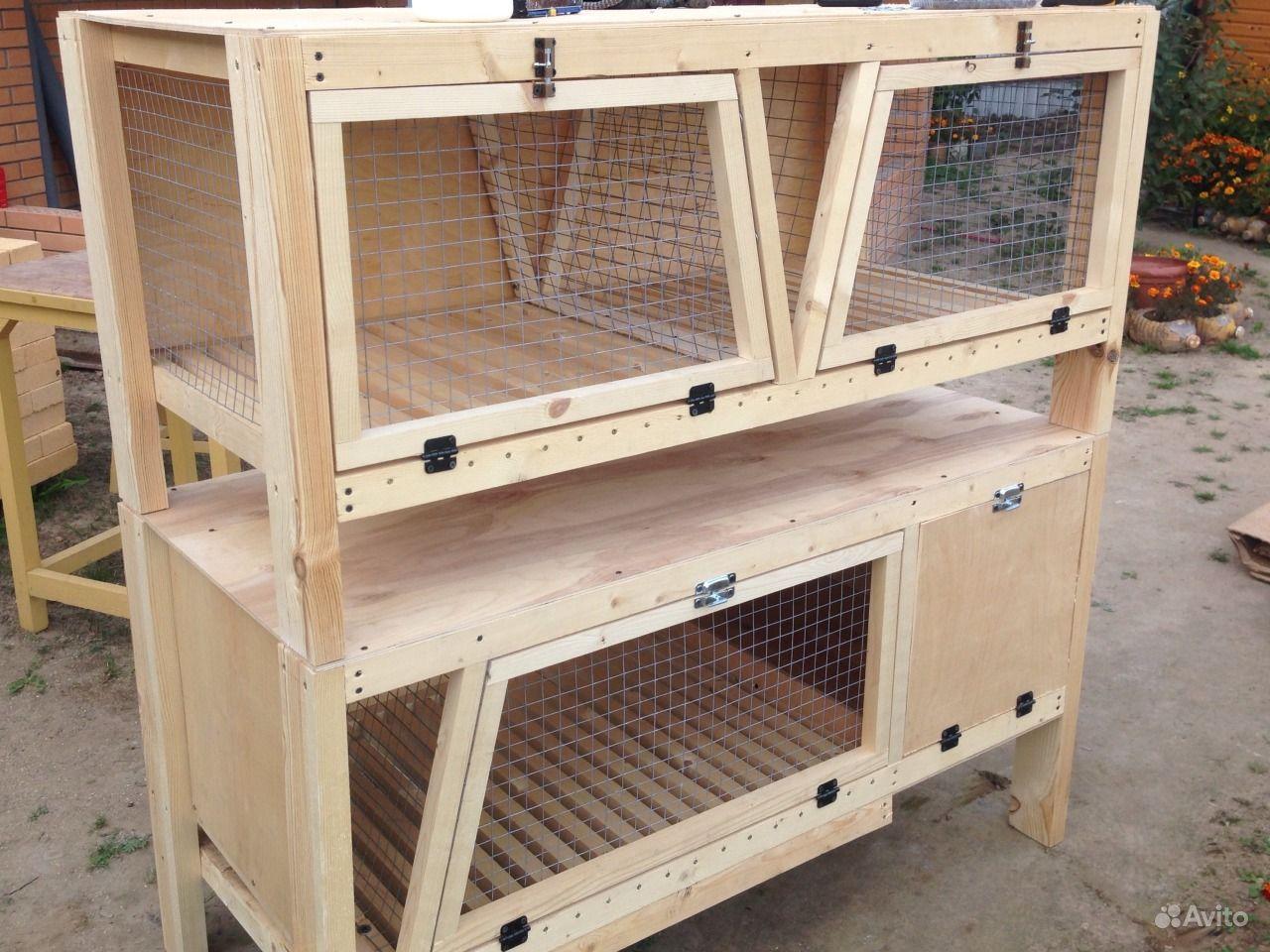 Как сделать правильно сделать клетки для кроликов в домашних условиях