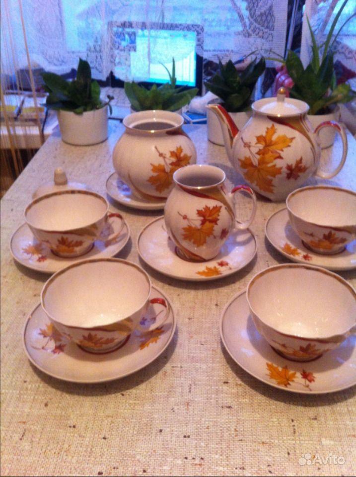 Чайный сервиз 13 предметов. Новосибирская область, Бердск