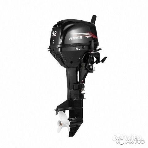 Лодочный мотор Hidea HD9.8FHS как новый. Республика Хакассия,  Абакан
