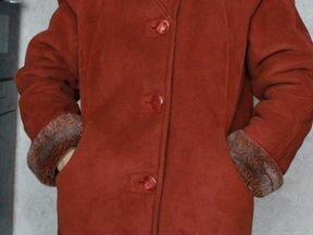 Итальянская зимняя дубленка