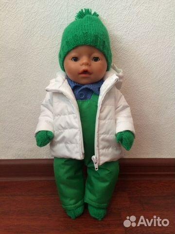 Зимний комбинезон для беби бона своими руками