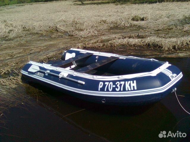 моторные лодки пвх купить бу на авито