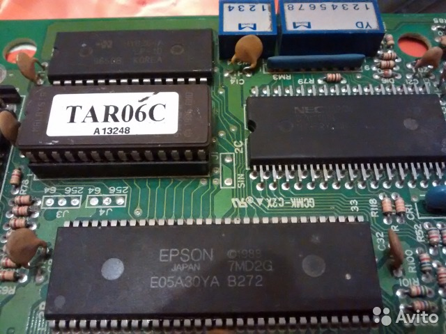 Плата Epson микросхема