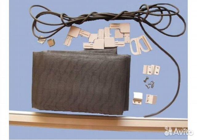 Сборка комплекта москитной сетки