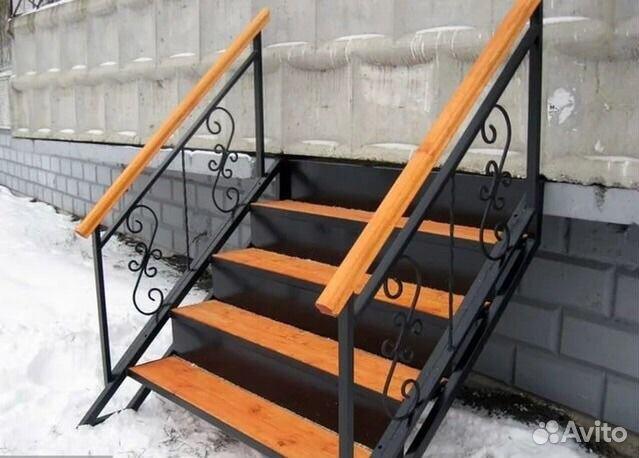 Лестница для дачи проф труба стремянка