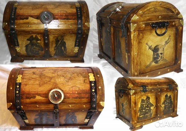 Сундуки пиратов своими руками 733