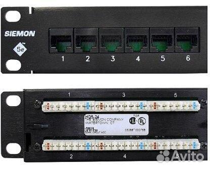 Объявление о продаже Патч-панель Siemon HD5-24B в Москве на Avito.