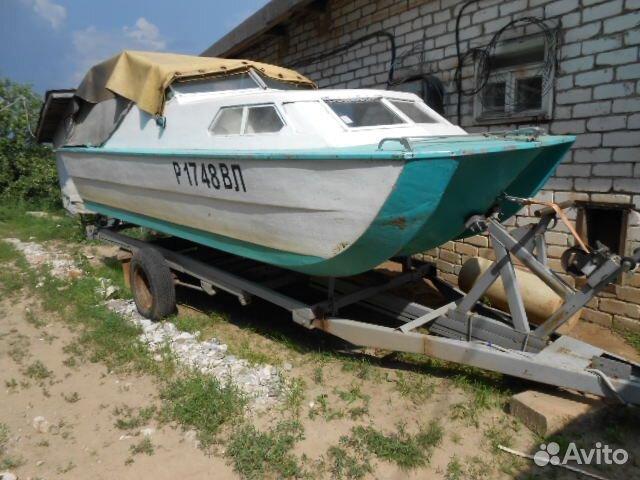 куплю катер лодку бу в спб