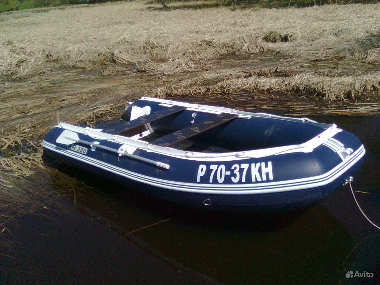 купить лодку смотором бу на авито