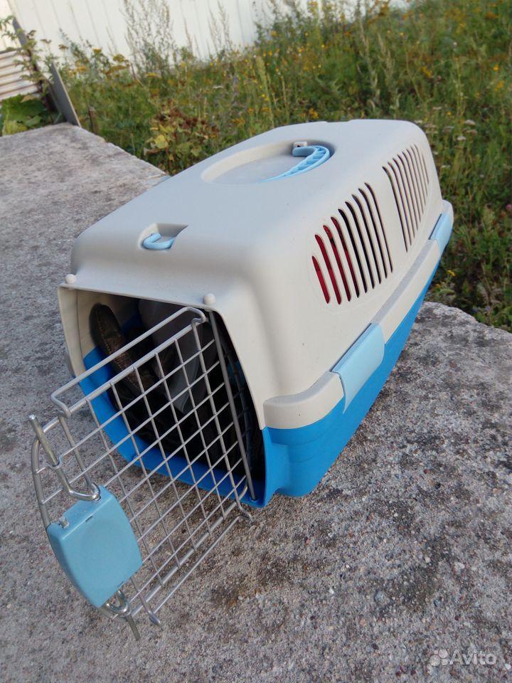 Переноска-клиппер для кошек и собак Fauna