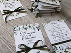 Пригласительные на свадьбу, сувениры