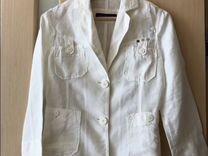 7bc2d761f3dd Льняной пиджак Trussardi Jeans купить в Санкт-Петербурге на Avito — Объявления  на сайте Авито