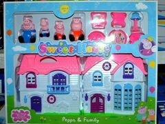 купить дом свинки пеппы игровой набор