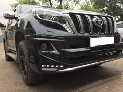 Modellista обвес на Toyota Land Cruiser Prado 150