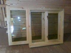 Деревянные окна для дачи,бытовок,домиков