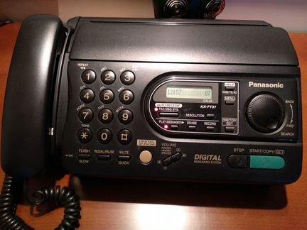 Факс Panasonic KX-FT37 объявление продам