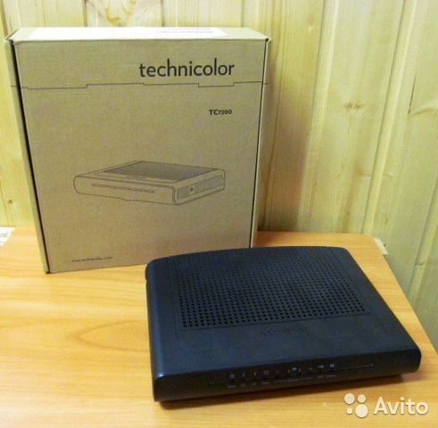 Wi-fi роутер Technicolor TC7200. d— фотография №1