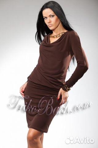 Красивое новое платье фирмы украинского бренда TrikoBakh!, в черном цвете и  в коричневом.размер 48-50 Цена 1000 руб. 89278855364 Светлана 81096d657b8