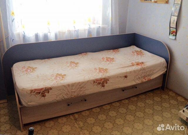 Кровать подростковую с ящиками
