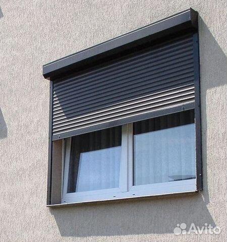 ставни на окна металлические электрозаводская