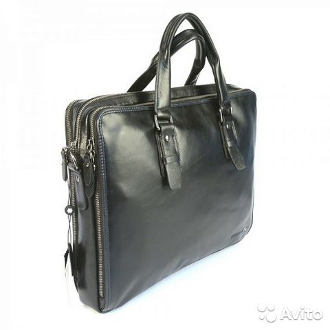 4c8aa2841 Мужская сумка Montblanc из кожи Ноутбук 15.6 | Festima.Ru ...