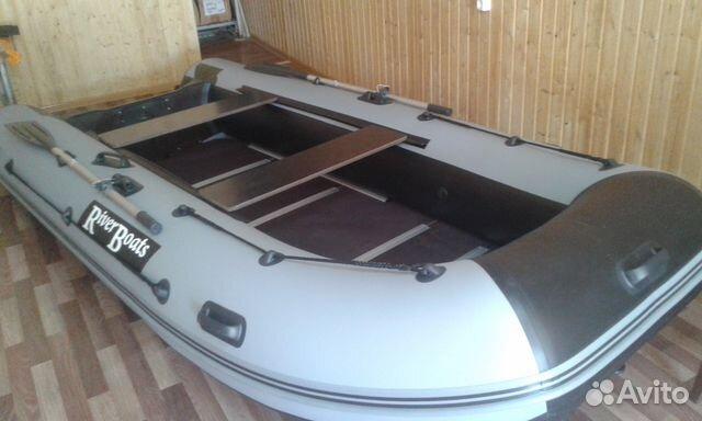 лодка пвх riverboats rb-350tt