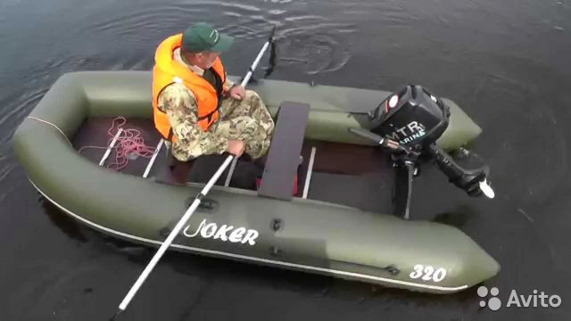 надувная лодка пвх joker-320