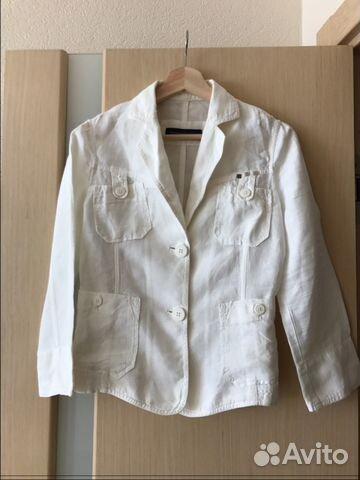5b852898b880 Льняной пиджак Trussardi Jeans купить в Санкт-Петербурге на Avito ...
