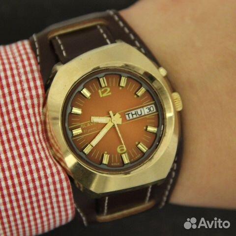 d2367892585c Slava Слава косая мужские наручные часы СССР в купить в Москве на ...