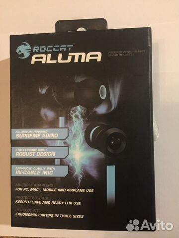 наушники Roccat Aluma затычки Festimaru мониторинг объявлений