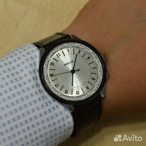 3174e6b9b3803 Ракета 24 часа Города наручные механические часы в купить в Москве ...