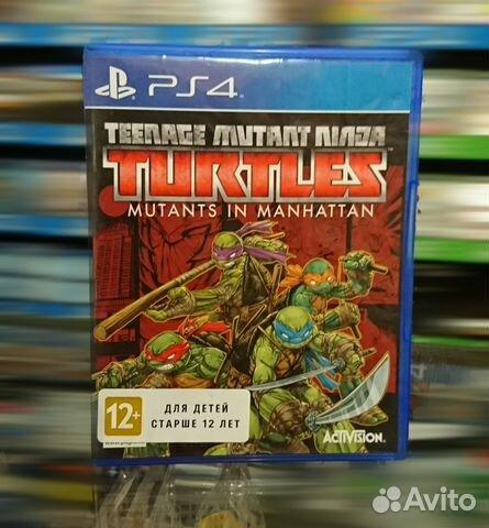 Teenage Mutant Ninja Turtles (PS4)   Festima Ru - Мониторинг объявлений
