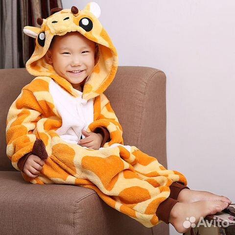 Пижама кигуруми Жирафа (детский) 4be56fd759ec4