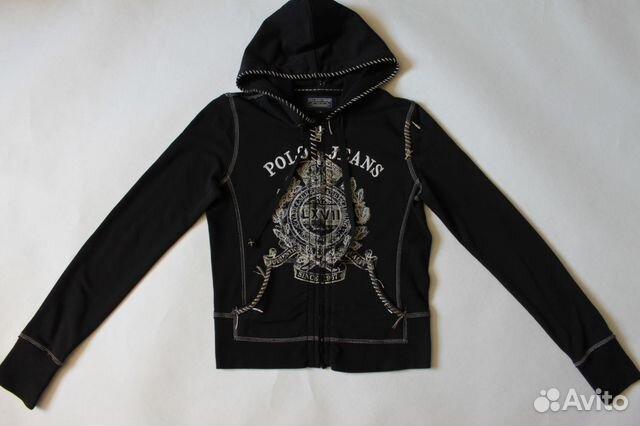 Женская черная кофта с капюшоном Ralph Lauren купить в Санкт ... b755dbd19cfdd