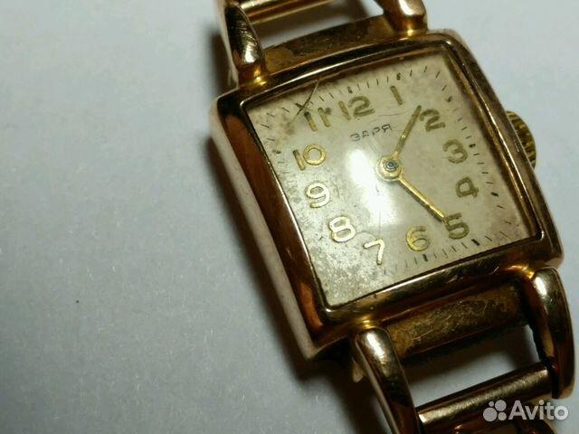 Часы заря золотые женские купить дембель наручные часы