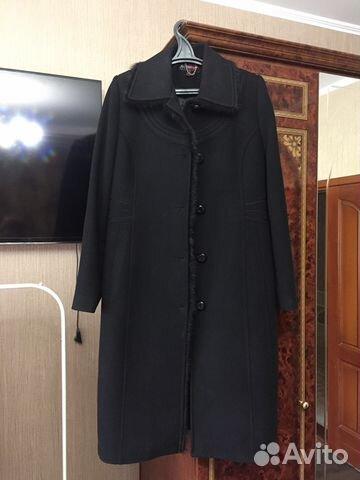 Новое модное тепленькое пуховое пальто р.54   Festima.Ru ... fa95283e438