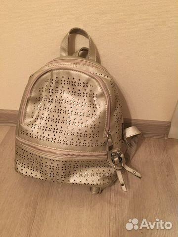 e80b8331220f Рюкзак женский металлик кожзам | Festima.Ru - Мониторинг объявлений
