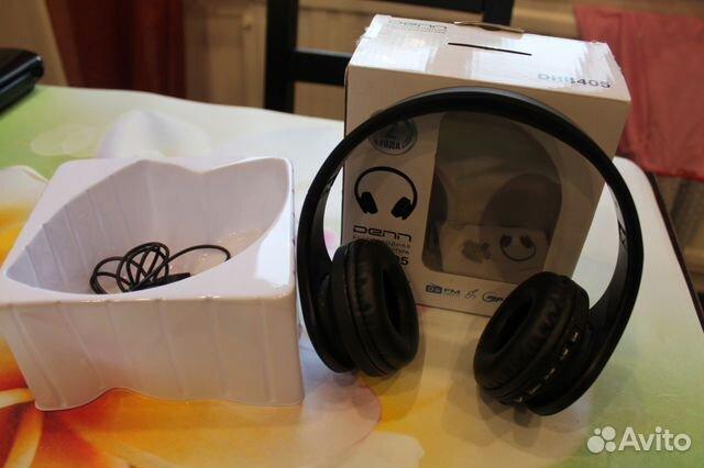 беспроводные Bluetooth наушники Denn Dhb 405 Festimaru