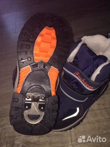 Новые детские ботинки с тормозом для мальчика   Festima.Ru ... 1b0920c7922