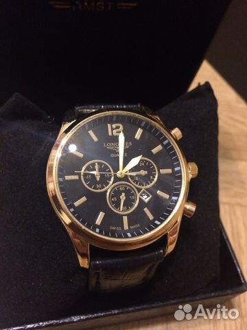 Мужские часы Longines новые + доставка  03cf7010e5b44