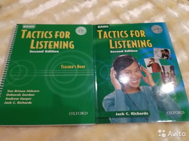 Listening book for tactics basic teachers