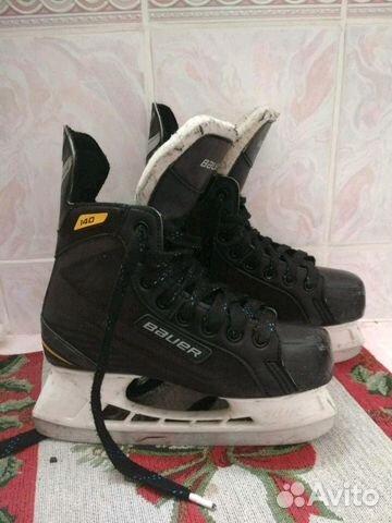 Коньки хоккейные Bauer Supreme, размер 38.5 89109609099 купить 1