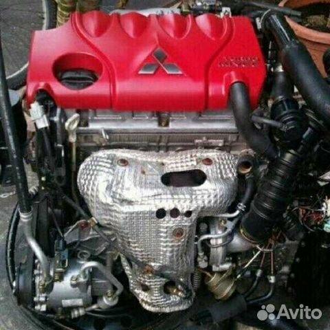 4G15 1 5 двигатель мотор двс митсубиши купить в Москве на Avito