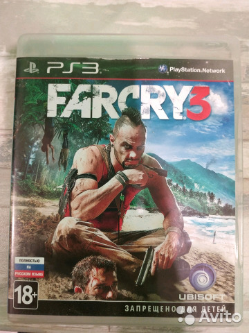 Диск PS3 Farcry3