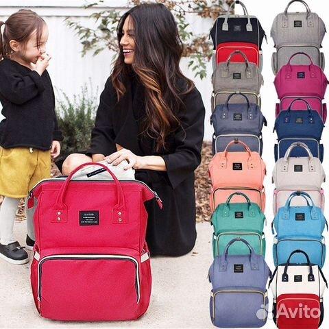 34e31b4fa7ba Сумка-рюкзак для мам maitedi baby MO без USB