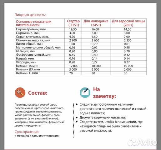 Комбикорм для несушек, яичных птиц Purina - 40 кг 89600500561 купить 4