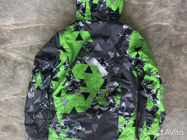 Куртка утепленная горнолыжная