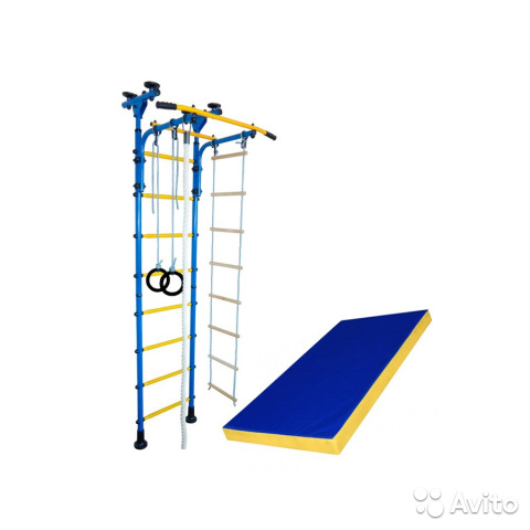 5c50703c7987a Шведская стенка для детей №3. Модель: Пол потолок— фотография №1